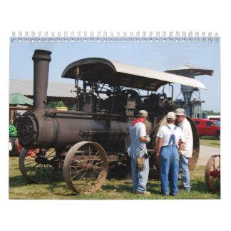 Old Farm Equipment Wall Calendar