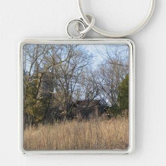 Old Farm Keychain
