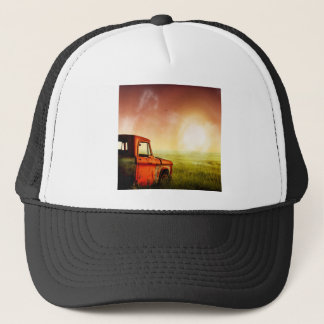 Old Farm Truck Trucker Hat