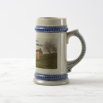 Old Farm - Woodford Co Ky., Midway, Kentucky Beer Stein