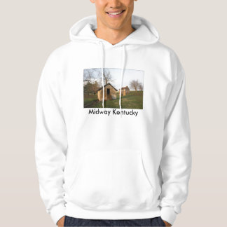 Old Farm - Woodford Co Ky., Midway Kentucky Hoodie