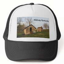 Old Farm - Woodford Co Ky., Midway Kentucky Trucker Hat