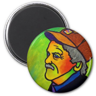 Old Farmer J 1 by Piliero 2 Inch Round Magnet