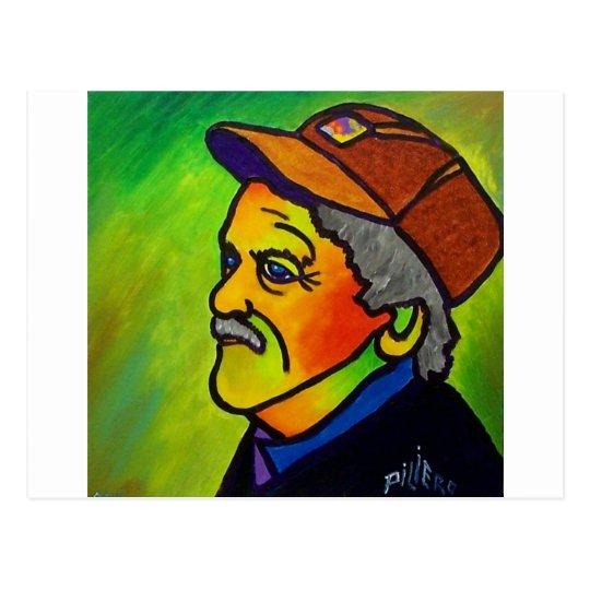 Old Farmer J 1 by Piliero Postcard