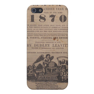 Old Farmers Almanac 19th Century Case For iPhone SE/5/5s