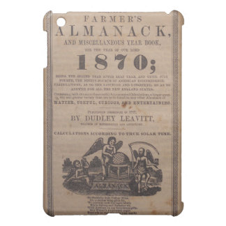 Old Farmers Almanac 19th Century Case For The iPad Mini