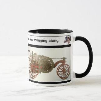 OLD FARMERS AND OLD TRACTORS, KEEP CHUGGING -  MUG