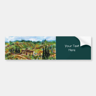 OLD FARMHOUSE IN CHIANTI -TUSCANY BUMPER STICKER