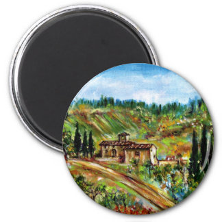 OLD FARMHOUSE IN CHIANTI -TUSCANY REFRIGERATOR MAGNET