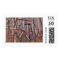 Old farming tools postage
