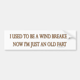 Old Fart Bumper Stickers