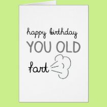 Old Fart Card