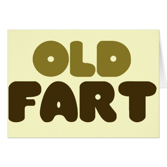 Old Fart Card
