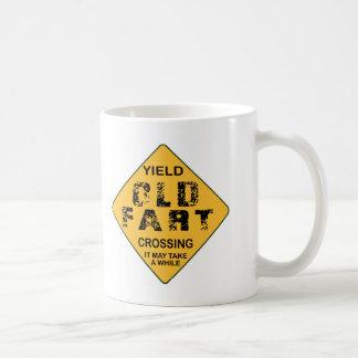 Old Fart Crossing Coffee Mug