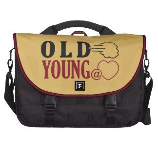 Old Fart custom laptop bag