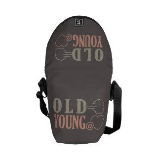 Old Fart custom messenger bag