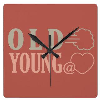 Old Fart custom wall clock