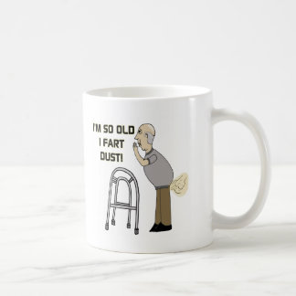 Old Fart Gifts For Fathers Day Coffee Mug
