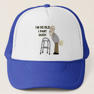 Old Fart Gifts For Fathers Day Trucker Hat