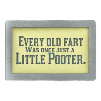 Old Fart - Little Pooter Belt Buckle