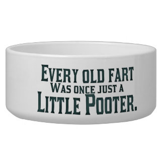 Old Fart - Little Pooter Bowl