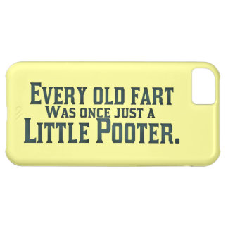 Old Fart - Little Pooter Case For iPhone 5C