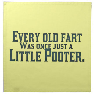 Old Fart - Little Pooter Cloth Napkin