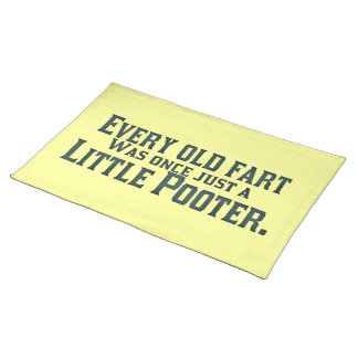 Old Fart - Little Pooter Cloth Placemat