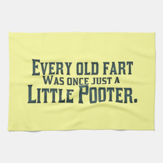 Old Fart - Little Pooter Towel
