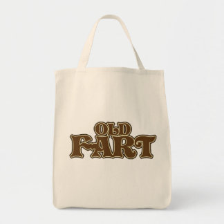 Old fart over the hill birthday tote bag