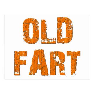 Old Fart Postcard