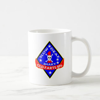 Old Farts Battalion Slow Shaky Deaf Coffee Mug