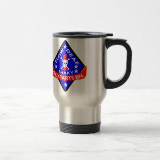 Old Farts Battalion Slow Shaky Deaf Travel Mug