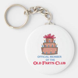OLD FARTS CLUB KEY CHAINS