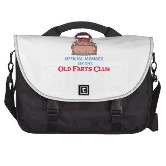 OLD FARTS CLUB LAPTOP MESSENGER BAG