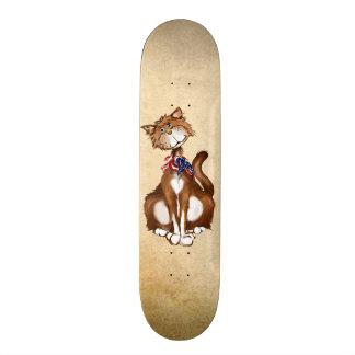 Old Fashion American Kitty Skateboard Deck