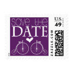 Old Fashion Bicycles Save the Date Postage