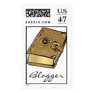 Old Fashion Blogger Postage