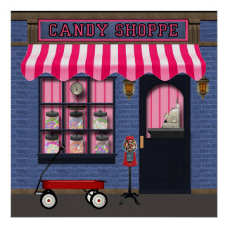 Old Fashion Candy Shoppe poster
