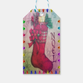 Old Fashion Christmas Gift Tags Pack of Gift Tags