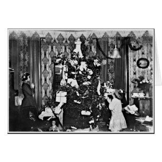 Old Fashion Christmas Greeting Card