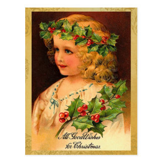 Old Fashion Christmas Holiday Postcards