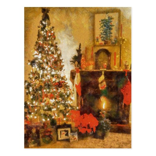 Fireplace cards fireplace card templates postage invitations