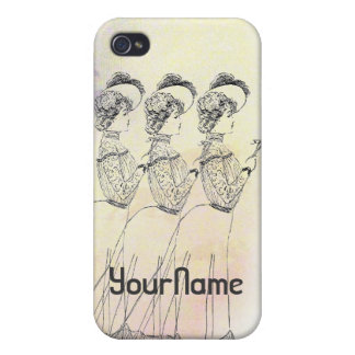Old Fashion Dress iPhone 4 Cover