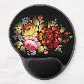 Old Fashion Flower Gel Mousepad