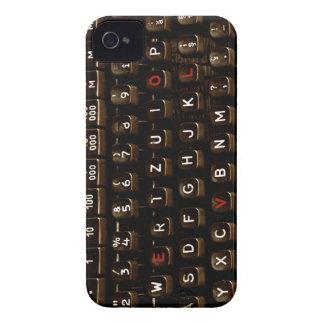 Old Fashion Love - Typewriter Machine iPhone 4 Case