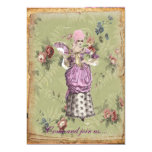 Old- Fashion Marie invitation