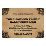 Old Fashion Ouija Board Inspired Halloween Party Invite