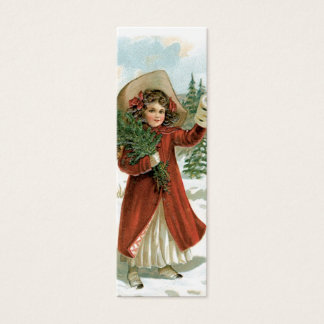 Old Fashion Santa LOVE Note or Gift Tag
