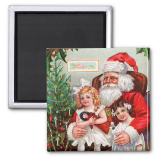 Old Fashion Santa Magnet for the Holidays